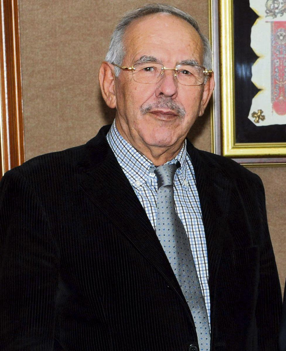 El presidente de honor de DIARIO DE AVISOS, Elías Bacallado Hernández. DA