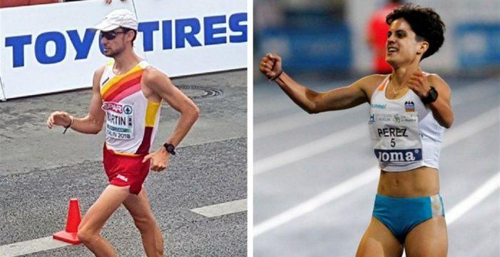 Álvaro Martín y María Pérez dan a España un doblete de oro en los Europeos de Atletismo