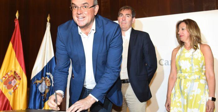 Pestana persevera para pactar con el PP pero rechaza entregar la presidencia del Cabildo