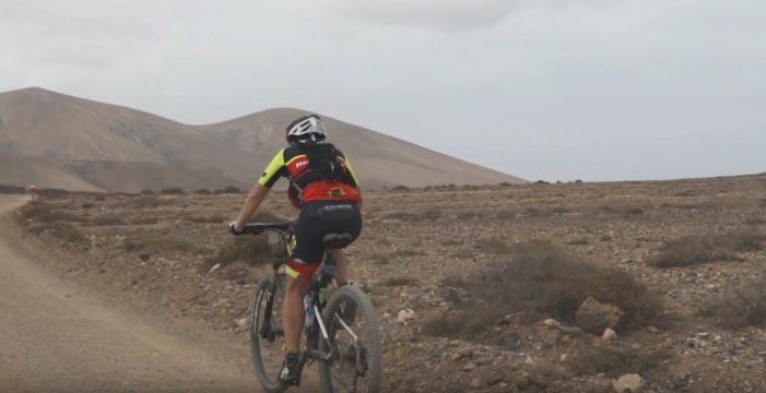 Fuertebike, una prueba ciclista espectacular entre los paisajes de Corralejo