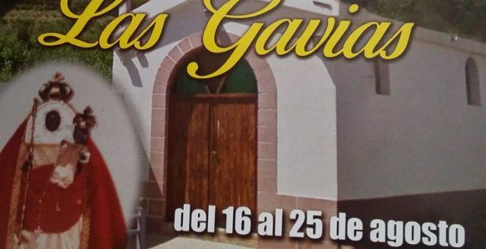 Las Gavias celebra sus fiestas en honor a Nuestra Señora de la Candelaria