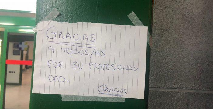 """Las redes se vuelcan con el personal del Hospital de La Candelaria: """"Orgulloso de todos"""""""