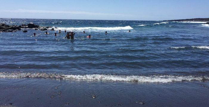 Reabiertas al público las playas cerradas a causa de un vertido de fuel
