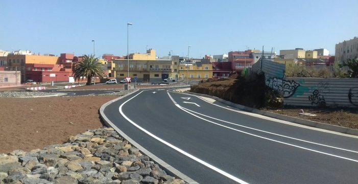 Abre al tráfico la nueva rotonda de El Coromoto, en La Laguna