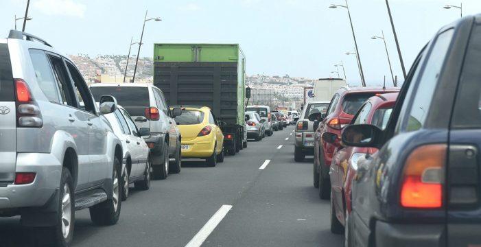 La TF-1, de San Miguel a Los Cristianos, entre las vías con mayor densidad de tráfico de España