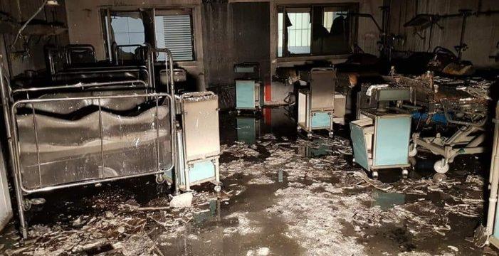 Un delito de incendio se castiga con penas de entre 10 y 20 años de cárcel