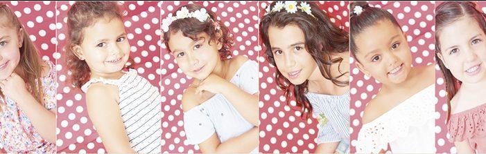 Seis niñas se presentan a reina y romera infantil de las Fiestas Patronales de Arafo
