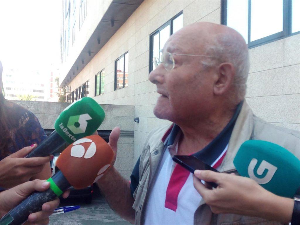 La comparecencia de Manuel Charlín ante el juez ha durado apenas 10 minutos. | EP