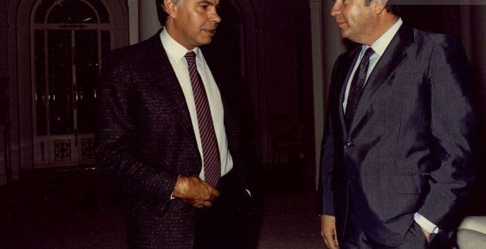 Cuando Felipe González 'temió' el poder del nacionalismo canario