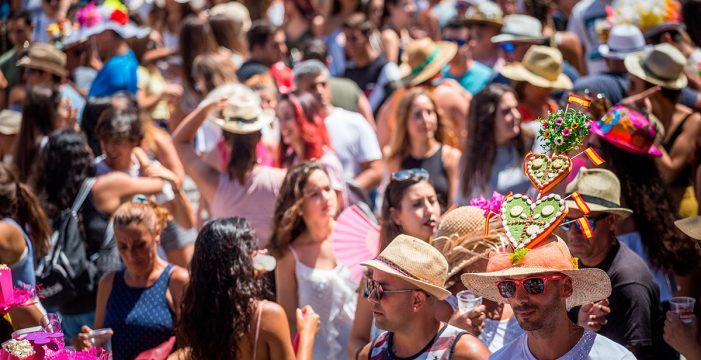 Titsa conectará cada quince minutos La Laguna y Tejina el día de la 'Verbena de la Pamela'