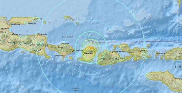 Alerta de tsunami por un terremoto de magnitud 7 en la costa de Indonesia