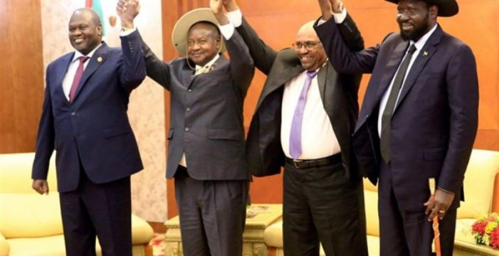 Gobierno y rebeldes firman el acuerdo de paz para poner fin a la guerra en Sudán del Sur