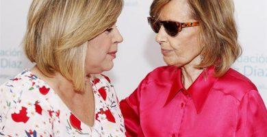 Terelu con su madre, María Teresa Campos. / EP