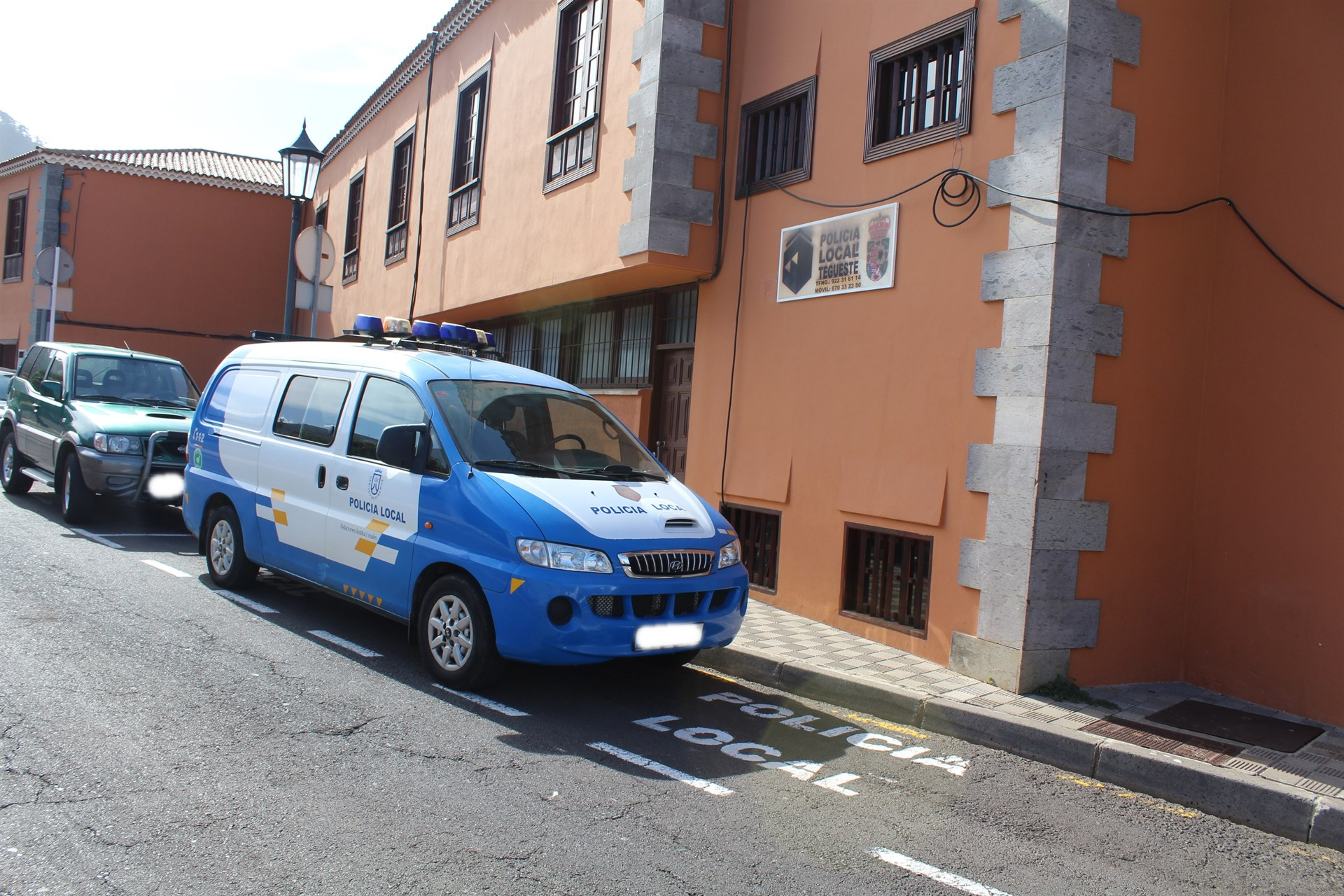 Comisaría de policía de Tegueste. / EP