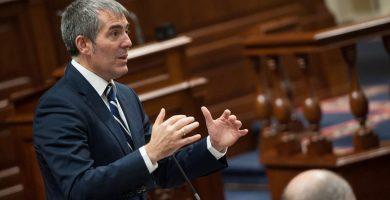 Fernando Clavijo en el Parlamento. Fran Pallero