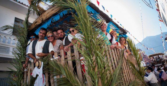 Más de 10.000 personas disfrutan de la Romería de San Agustín, en Arafo, que hoy vive el día grande de sus fiestas