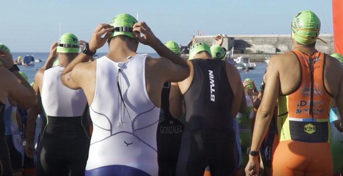 El IV Triatlón Guía de Isora, cita exigente en Playa San Juan