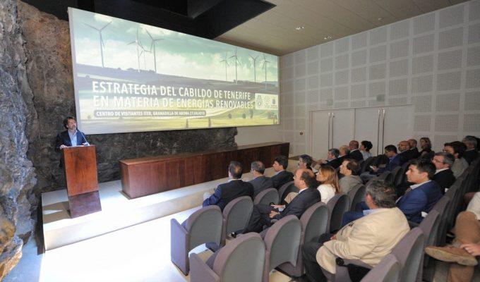 El Cabildo aspira a cubrir el 40% de la demanda energética de la isla a través de las energías renovables