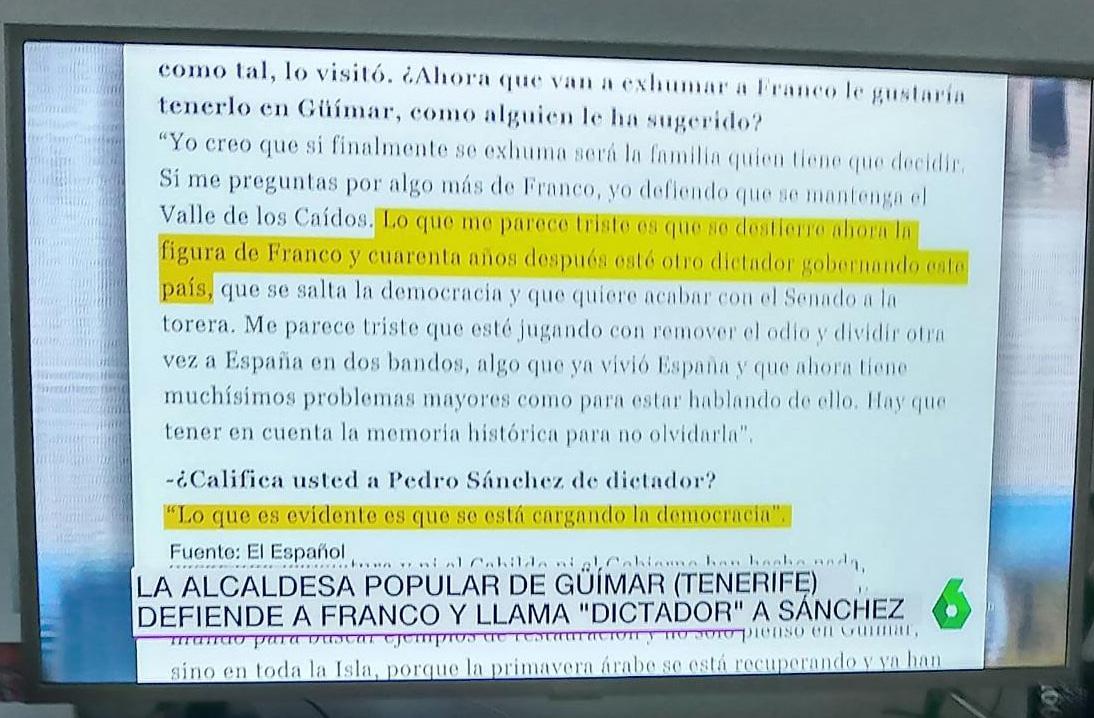 La entrevista a Luisa Castro, en La Sexta Noticias