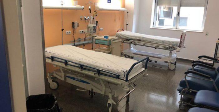 El hospital empieza a normalizarse tras sufrir un mazazo a su seguridad