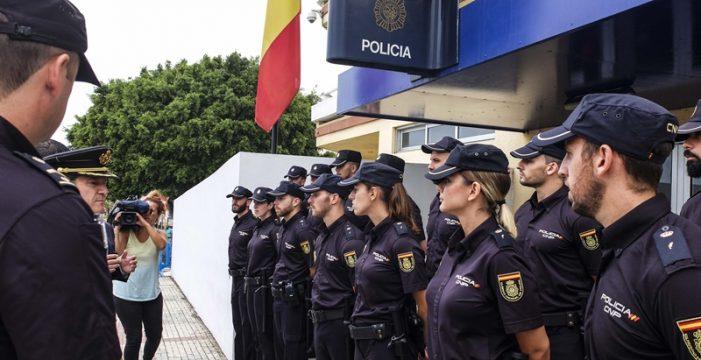 La plantilla de la Comisaría Nacional del Puerto de la Cruz-Los Realejos se encuentra al 85%