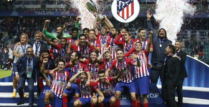 El Atlético se agiganta en la prórroga contra el Real Madrid para reinar en Europa (2-4)