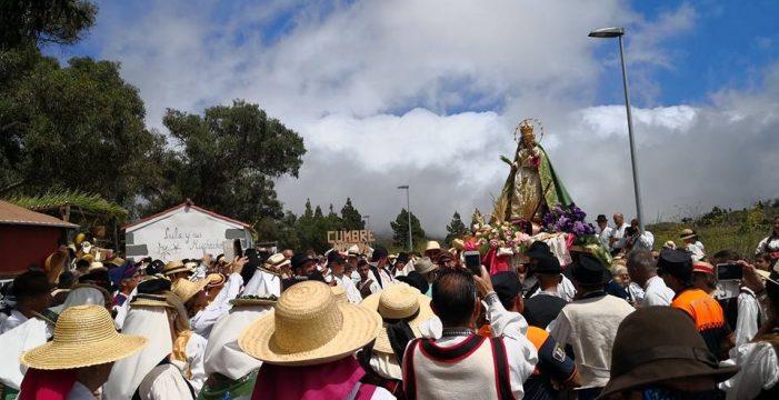 Devoción romera para la Virgen del Pino