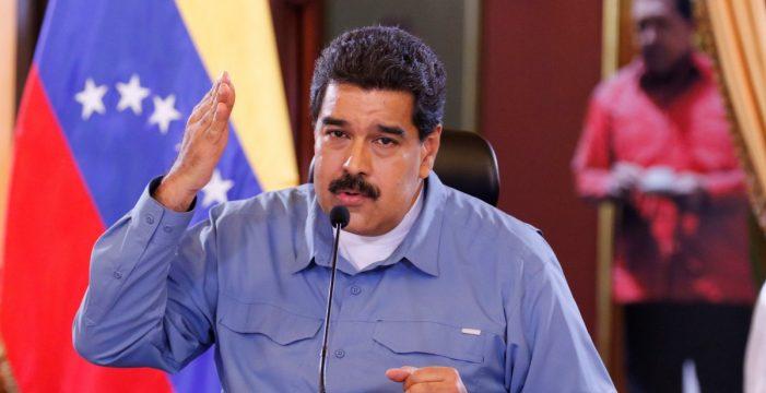 """Maduro acusa a la """"sanguijuela"""" de Guaidó de promover el terrorismo en Venezuela con dinero de EEUU"""
