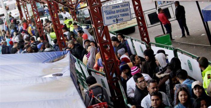 La crisis migratoria de Venezuela podría igualar a la del Mediterráneo