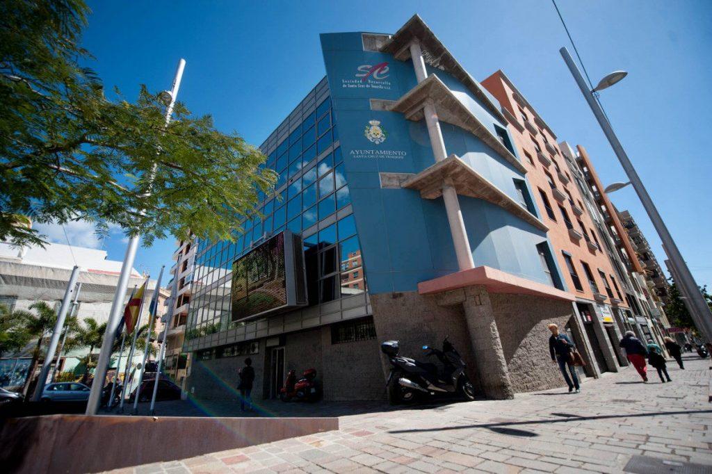 Sede de la Sociedad de Desarrollo en Santa Cruz de Tenerife / DA