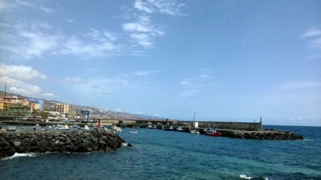 Imagen del puerto pesquero de Candelaria. DA