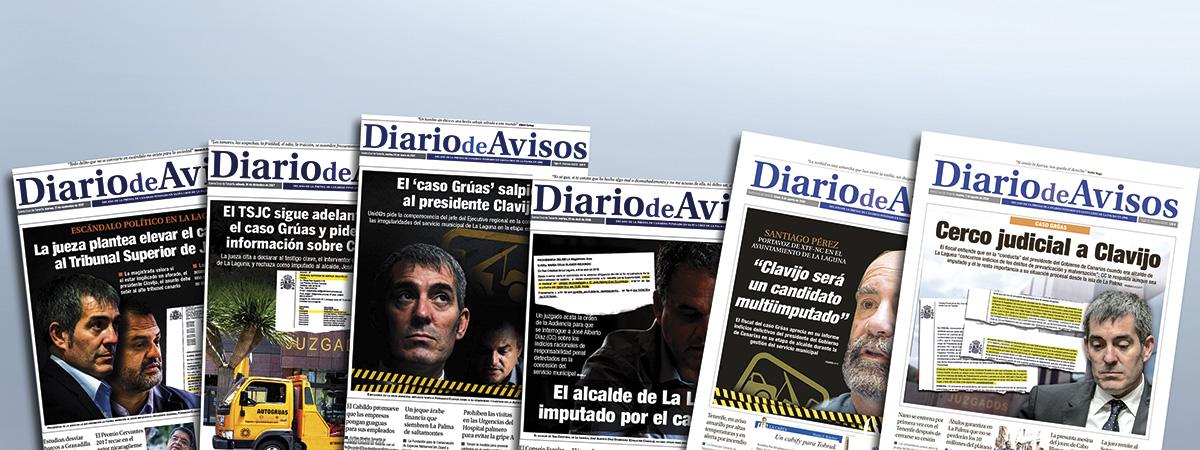 DIARIO DE AVISOS inició en 2016 una serie de publicaciones sobre el caso Grúas