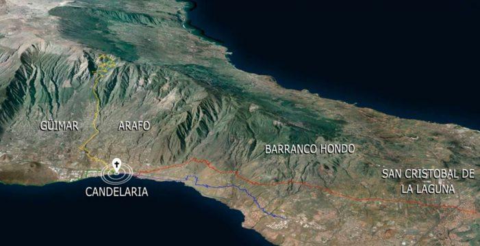 Más de 7.000 senderistas cruzarán los montes de Tenerife en peregrinación a Candelaria