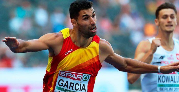 El palmero Samuel García se cuelga el bronce en el 4×400 metros de Berlín