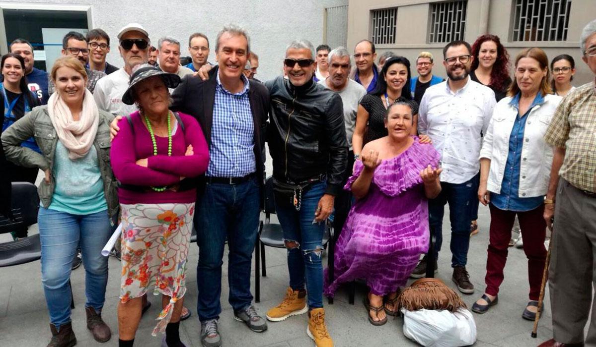 SIN HOGAR - ÓSCAR GARCÍA VISITÓ RECIENTEMENTE EL ALBERGUE CAPITALINO