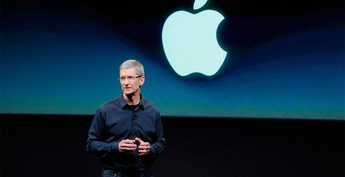 Apple alcanza un valor histórico: un billón de dólares