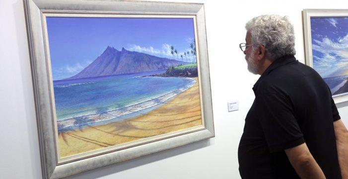 Chago Melián une a Canarias y Hawaii en una exposición