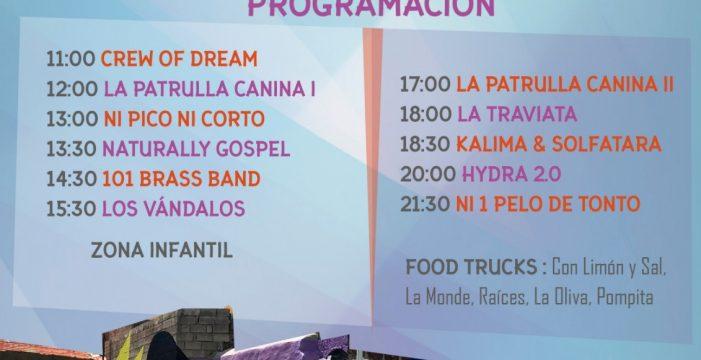 Los 'foodtrucks' y la música, protagonistas de la nueva edición del Pisaca Fest