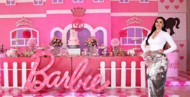 Así fue la increíble fiesta de Barbie de las hijas de El Chapo