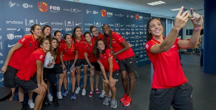 La selección llega hoy a Tenerife