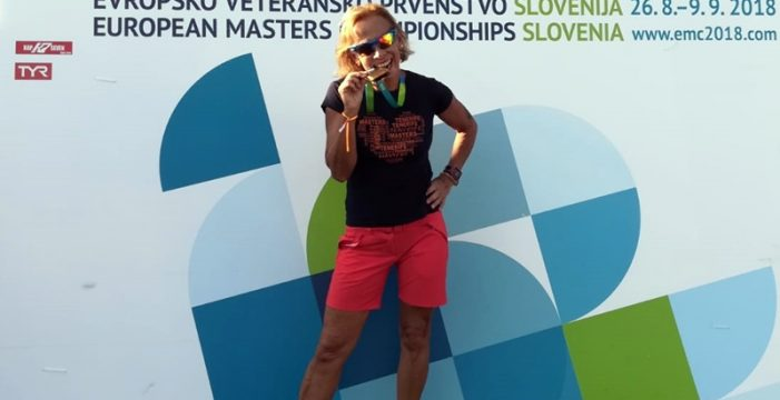 Gran papel tinerfeño en el campeonato de Europa de natación máster