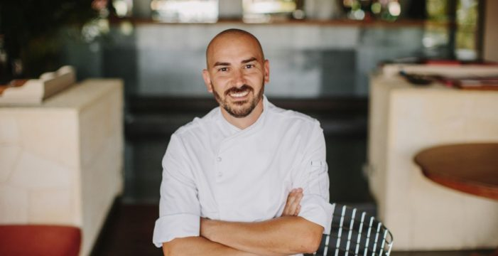 Braulio Simancas exhibe su mejor cocina en Las Aguas