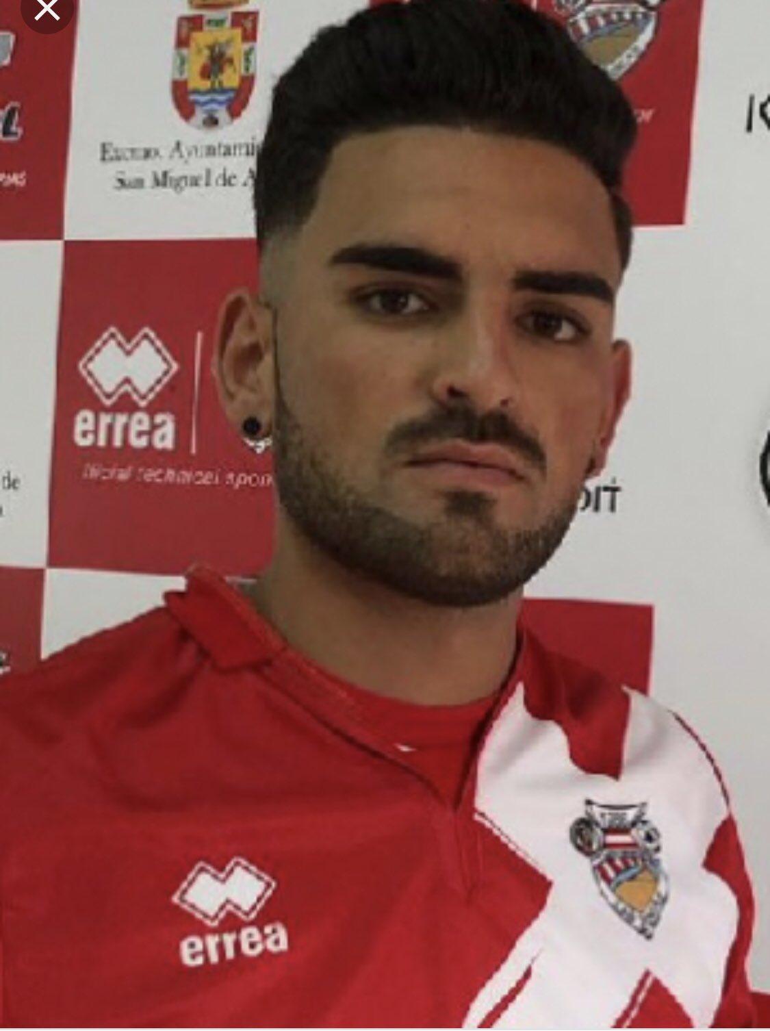 Pedro Pérez, jugador de la Unión Deportiva Las Zocas fallecido en accidente de tráfico. / TWITTER