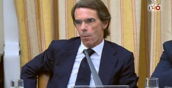 La pregunta de Rufián que dejó a Aznar sin palabras