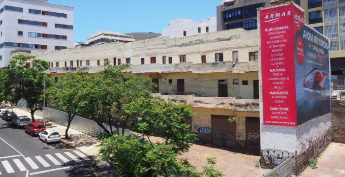 El viejo edificio amarillo de Miraflores, en Santa Cruz, se derribará este mes