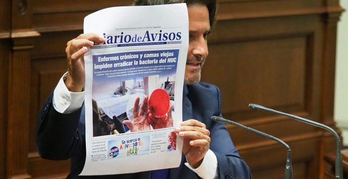 El PSOE insiste en pedir explicaciones a Baltar por la bacteria del HUC