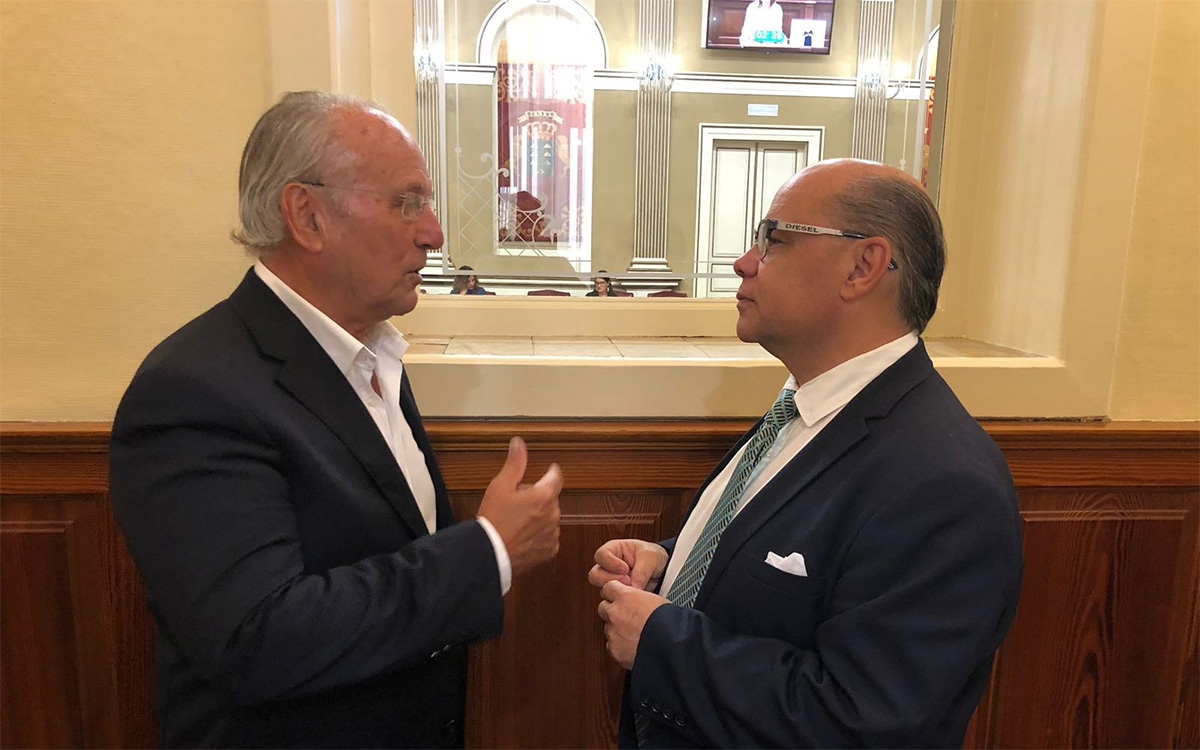 Juan Manuel García Ramos y José Miguel Barragán