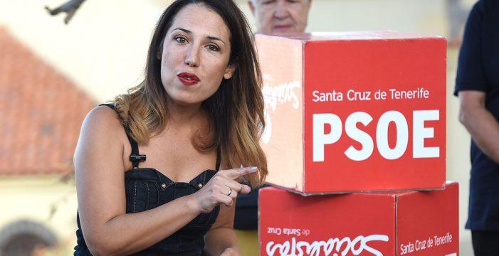 """El PSOE recuerda a CC que Patricia Hernández """"siempre ha ganado a sus rivales"""""""