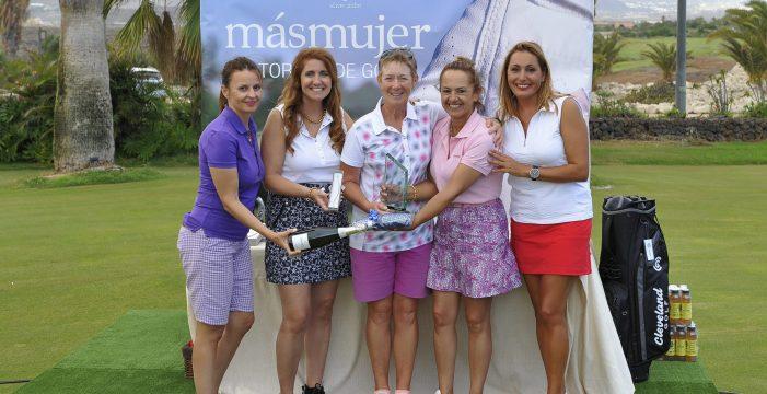 La primera edición del Torneo de Golf Más Mujer resultó un éxito