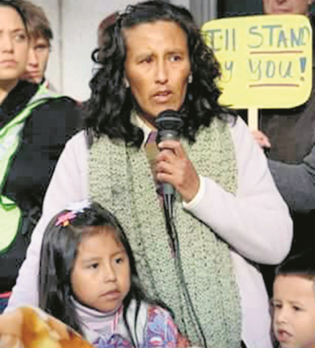 eanette Vizguerra emigró desde México a EE.UU. en los 90. Es madre de 4 hijos, 3 de ellos estadounidenses. / DA